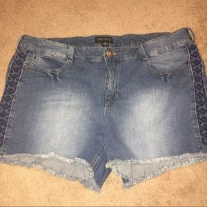 Forever 21+ size 20 jean shorts
